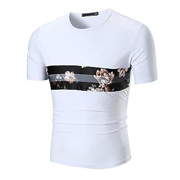 Camisas hombre , Amlaiworld Camiseta Hombre Camisetas de impresión de tallas grandes niños Tees Tops camisetas