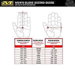 Mechanix M-Pact 0.5mm Covert Gloves, Black, Medium (Color: Black, Tamaño: Medium)