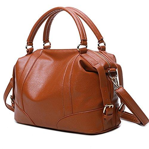 mefly la nueva moda bolsa para portátil, Claret marrón