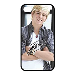 Mystic Zone R5 Ross Lynch Cover Case for iPhone 4/4S Back Cover Fits Case KEK1906 hjbrhga1544