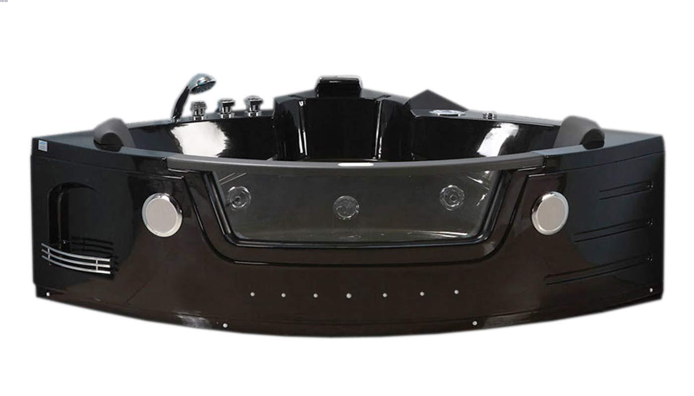 VASCA BAGNO IDROMASSAGGIO CROMOTERAPIA 2 PERSONE NUOVA Mod. MAJESTIC - BATH TUB simba