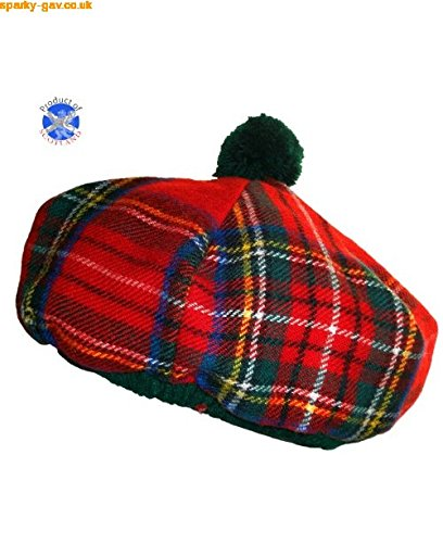 Tartan Flat Cap Major Wear 9eKbiX