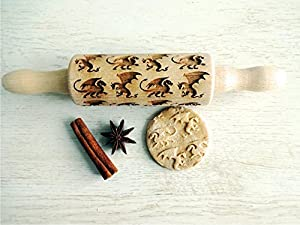DRAGONS kids rolling pin