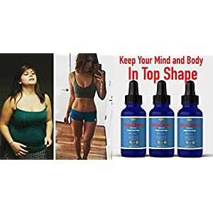 Waist Away Thermogenic Weight Loss Diet Drops Supplement For Women & Men, Best Thermogenic Fat Burner & Shape Reclaimed diet Product, # 1 Appetite Control, Get Slim or Money Back Guarantee!