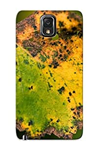 For Case Samsung Note 4 Cover Defender(rusty Leaf ) Gift For Christmas