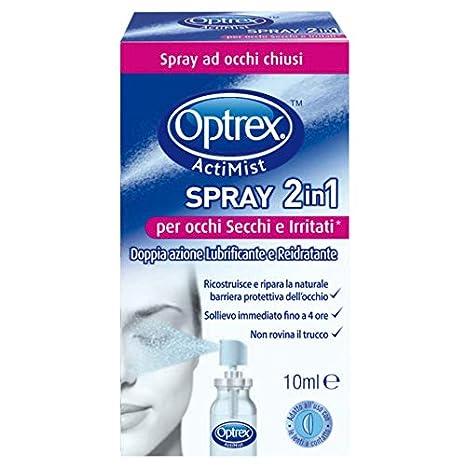 Optrex Collirio Spray Actimist 2in1 per Occhi Stanchi e Arrossati Reckitt Benckiser IT 3013678
