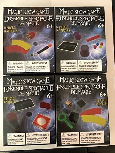 Amazon.com: Magic Show Game – Juego de cuatro (4) juegos ...