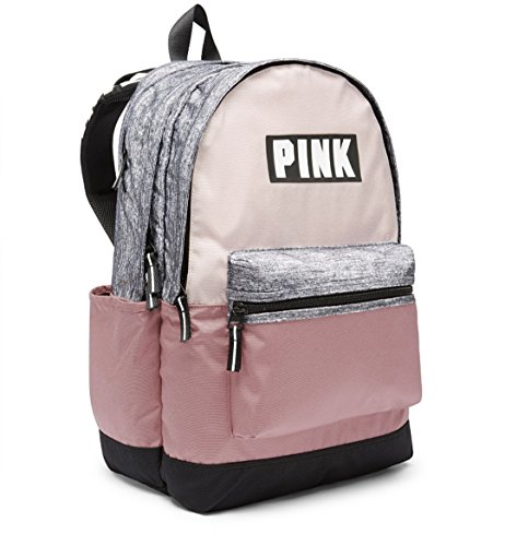 Victorias Secret PINK Campus Backpack NEW 2017 (Cocoon / Perfectly Pink)