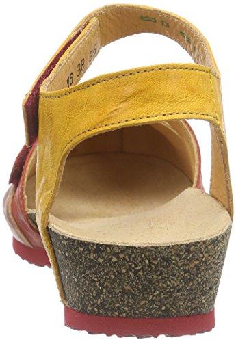 WoMen Rot Chilli Red Back Sandale Think Kombi Sling Kessy 76 Sandals qwTTHA1