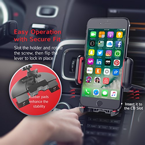 Автозапчасть Mpow Car Phone Holder,CD