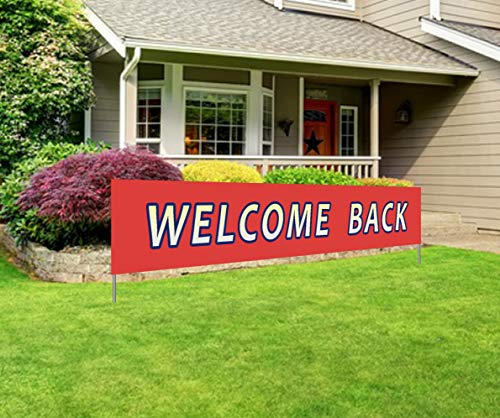 Large Welcome Back Banner | Back Home Office