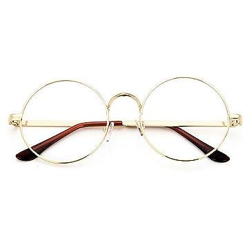 retro runde brille damen herren brillenfassung mit. Black Bedroom Furniture Sets. Home Design Ideas