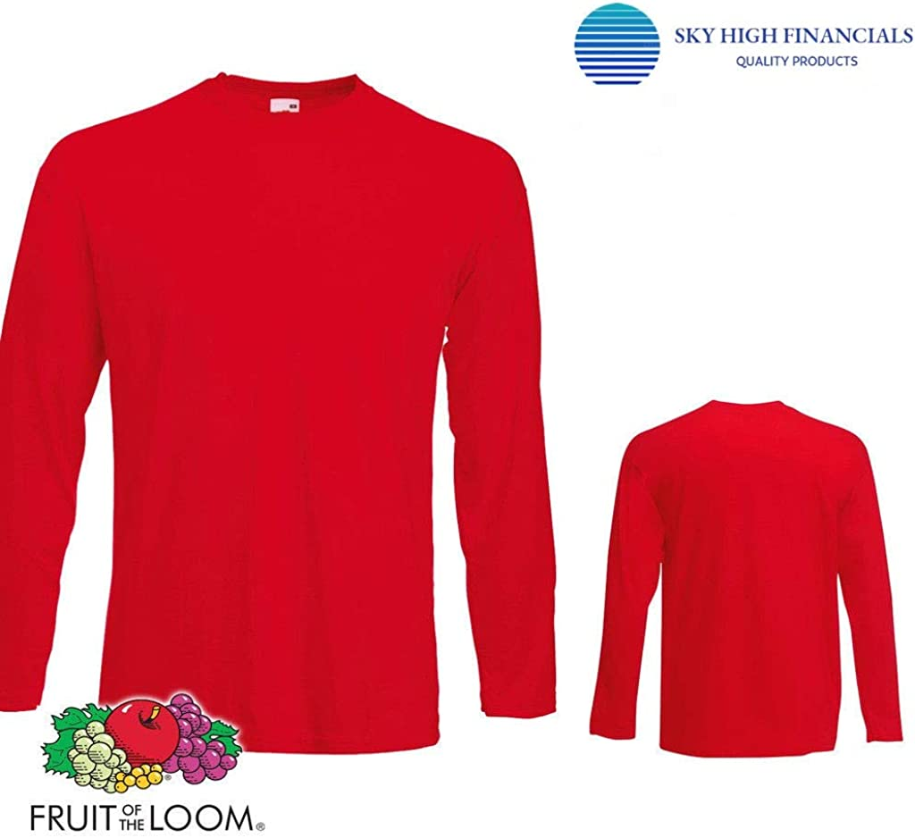 red t shirt plain front and back