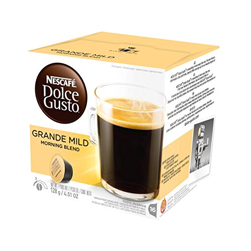 Nescafe Dolce Gusto for Nescafe Dolce Gusto Brewers, Grande Mild Morning Blend, 48 Count