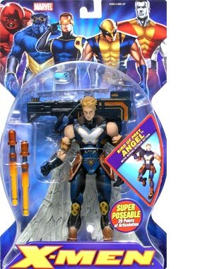 Series 2 Angel (Bird of Prey) action figure (Distressed Packaging) (Action Figure Packaging)