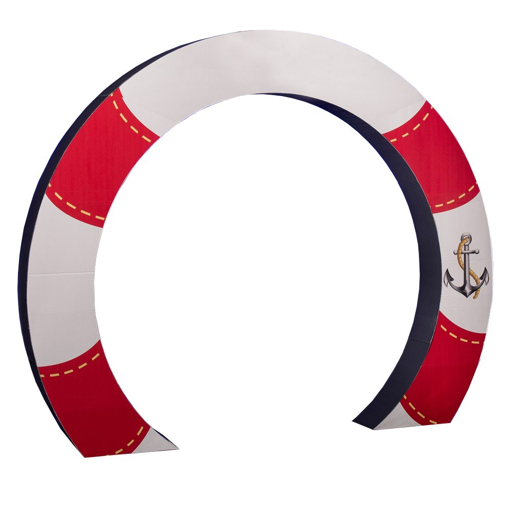 Life Preserver Arch Standee Party Prop by Shindigz