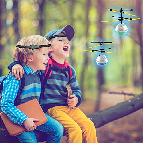 Diditech Mind Sensor Flying Ball Infrared Induction Flying Toy Attention Training Plane DIY Helicopter for Ten Year Old and Above by Diditech (Image #5)