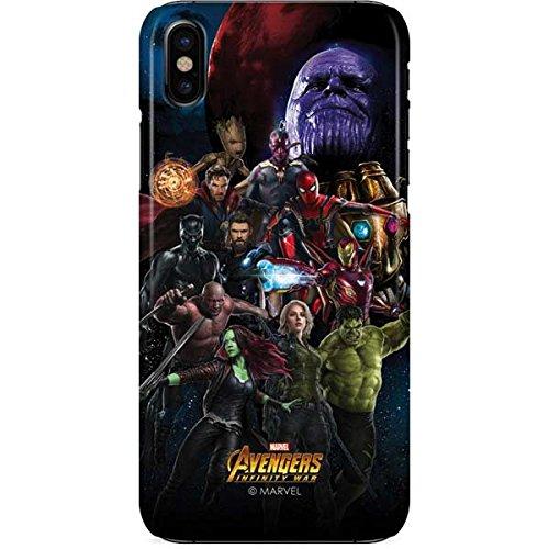 detailed look a94e7 97937 Avengers iPhone X Case - Avengers Legendary   Marvel & Skinit Lite Case