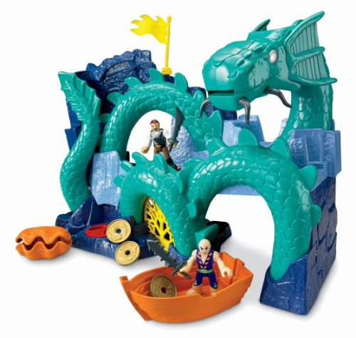Fisher-Price Imaginext Sea Dragon Island (Imaginext Fisher Price Dragon)