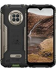 Doogee S96 Pro, outdoor mobiele telefoon met nachtzicht, 8 GB + 128 GB Helio G90, 48 MP + 20 MP camera, 6,22 inch UHD + 6350 mAh + 4G Dual SIM waterdicht NFC GPS, robuuste Android smartphone buitenshuis (groen)