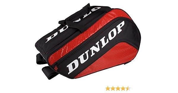 Dunlop Paletero Tour Mediano - Bolsa paletero, Color Negro/Rojo ...