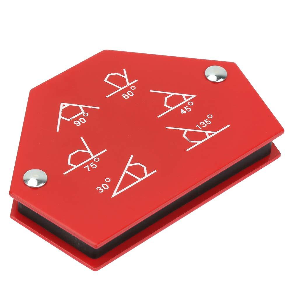 25LBS FTVOGUE Support De Soudage Ftvogue Support De Soudure Pour Aimant Multi-Angle /à Six Angles /à Six C/ôT/éS Support De Fixation Pour Soudeuse Magn/éTique 30 /° 60 /° 45 /° 75 /° 90 /° 135 /°