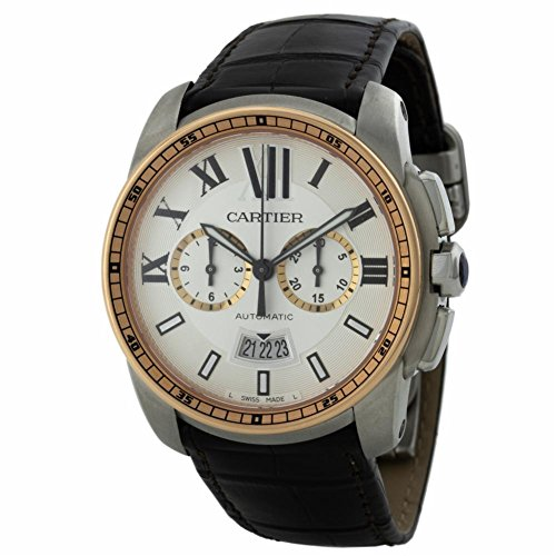 Cartier Calibre de Cartier swiss-automatic mens Watch W7100043 (Certified Pre-owned)
