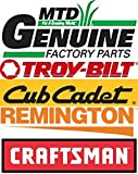 MTD Genuine Part 946-04444 Cable-Clutch VERTICUTTER OEM Part for Troy-Bilt Cub-Cadet Craftsman Bolens Remington Ryobi Yardman Yard-Machine White Husk