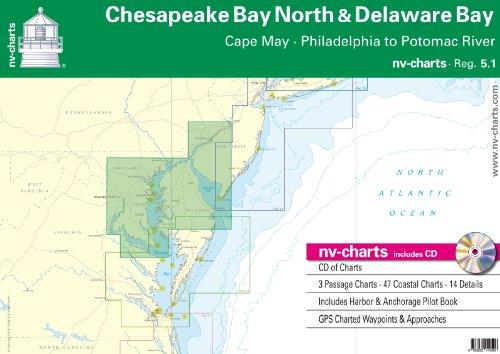 Chesapeake Bay North & Delaware Bay (NV.Charts, 5.1)
