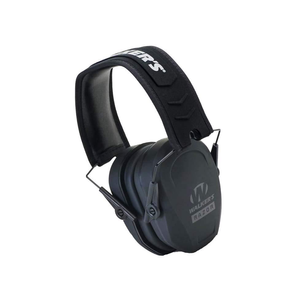 Walk Slim Passive Earmuff Australia, Low-Profile Earcups - Black (Update Version) by WALKER'S