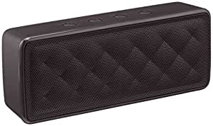 AmazonBasics - Altavoz portátil Bluetooth, color negro