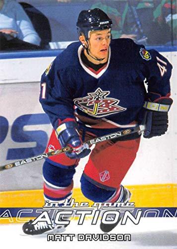 2003-04 In The Game Action Hockey #158 Matt Davidson Columbus Blue Jackets ()