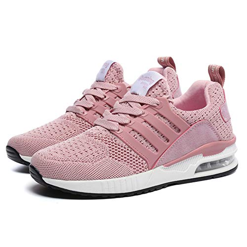 Rose 36eu Fitness Style Femme Axcone Air Gym 44eu Chaussures Homme Outdoorsneakers Sport Baskets Running Multicolore Respirante ZgwOqZ0