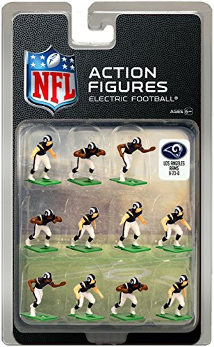 (Los Angeles Rams Dark Uniform NFL Action Figure Set )