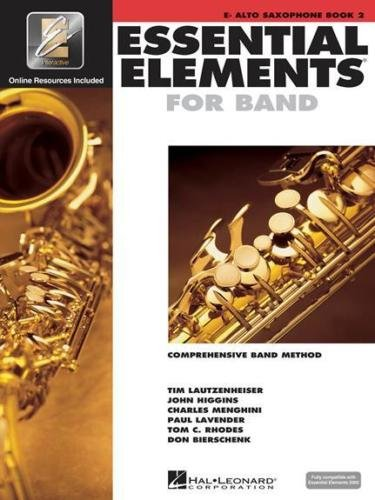Alto Big Band Saxophone - Hal Leonard Essential Elements for Band - Eb Alto Saxophone (Book 2 with EEi)