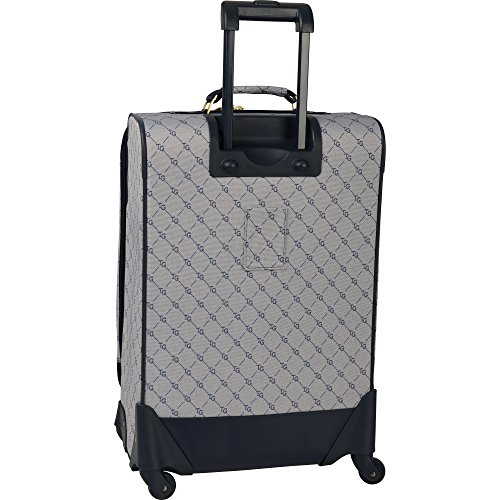 Travel Gear Signature 4 Piece Expandable Spinner Luggage Set (28In/24In/20In/26In), White/Peacoat by Travel Gear (Image #1)'