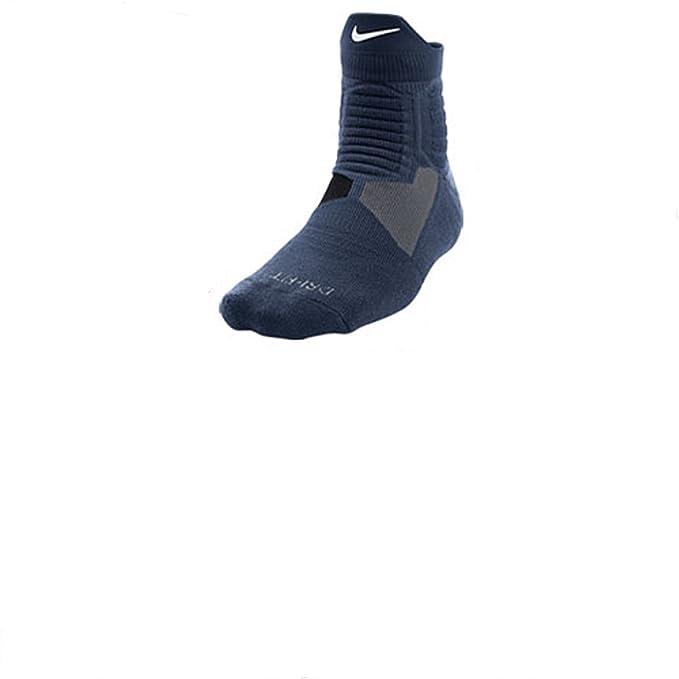 Nike hombre Elite alta Quarter calcetines de baloncesto - -: Amazon.es: Ropa y accesorios
