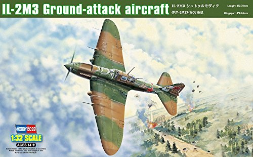Hobby Boss Il-2M3 Ground Attack Aircraft Airplane Model Building Kit