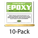 Hardman Double Bubble ''Green'' Crystal Clear (Clear as Water) Epoxy 10 Packs (#04004)