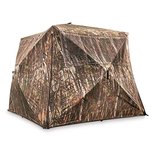 Guide Gear Camo Flare Out 5-Hub Ground Blind.