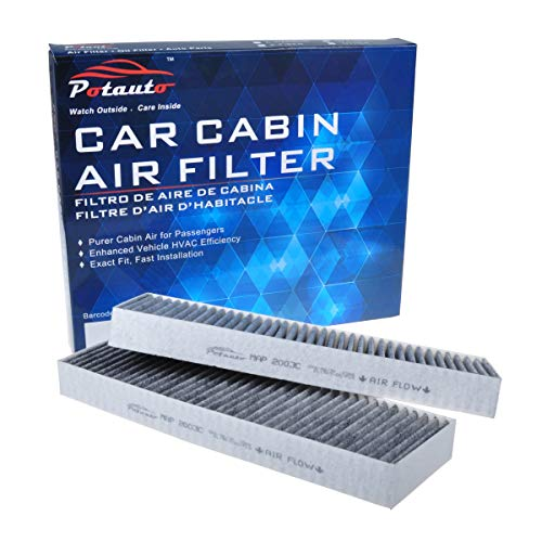 POTAUTO MAP 2003C (CF8603A) Replacement Activated Carbon Car Cabin Air Filter for ACURA, CL, TL, HONDA, Accord(Upgraded with Active Carbon)