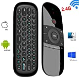 Wireless Mouse With Keyboard,Yongf 2.4Ghz Wireless Android Remote Smart TV Controller Android TV Box Mini Keyboard For Android TV Boxes, PCs, Laptops, Projectors And Smart TVs(not for Smasung TV)
