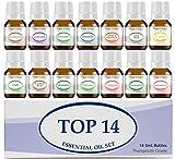 Essential Oil Set 14-5 ml Therapeutic Grade 100% Pure Frankincense