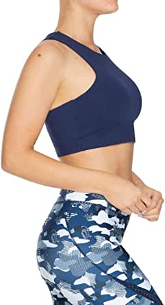 Rockwear Activewear Women's Marine Li Longline Bra From size 4-18 Low Impact Bras For