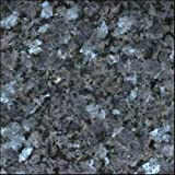 "4""x2"" Blue Pearl From Norway Color Sample Natural Granite . Used for Granite Kitchen or Bathroom Countertops or Tile ."