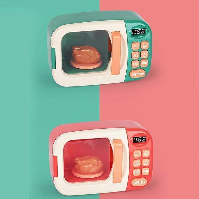 MIKLL Microondas de Juguete para niños Microondas con cocinas de ...