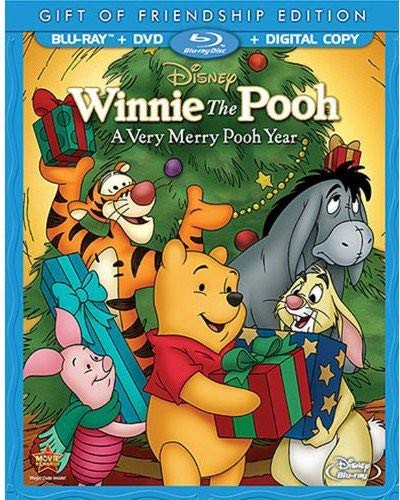 Winnie the Pooh: A Very Merry Pooh Year (Gift of Friendship Edition) [Blu-ray] (Winnie The Pooh A Day For Eeyore)