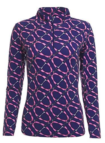 IBKUL Golf- Ladies Long Sleeve Mock Neck Shirt