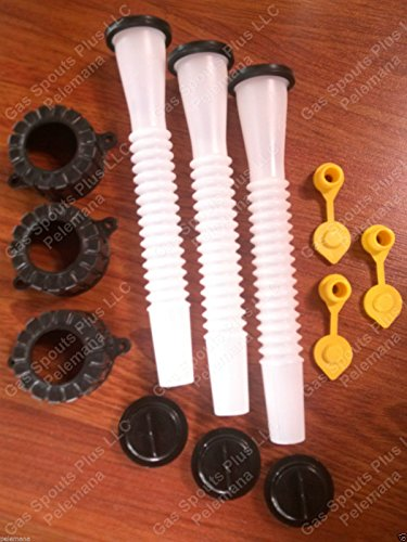 3 Aftermarket BLITZ Gas Can SPOUTS & PART KITS customer special request