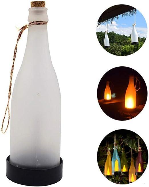 H-deng Botella De Energía Solar Iluminación Colgante, Lámparas De ...